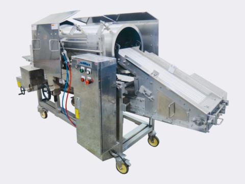 滚筒式粘粉机/SM-PDR300-2500