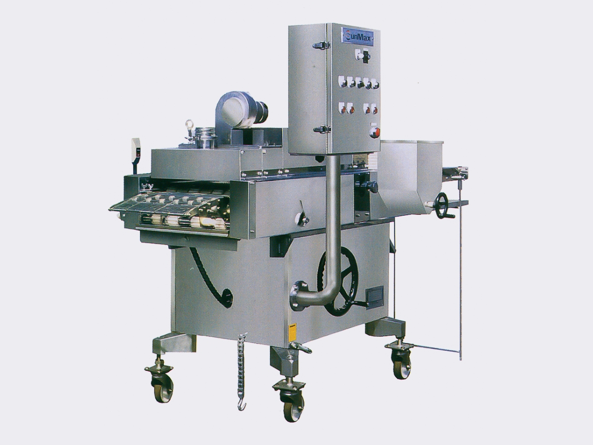 Flouring machines