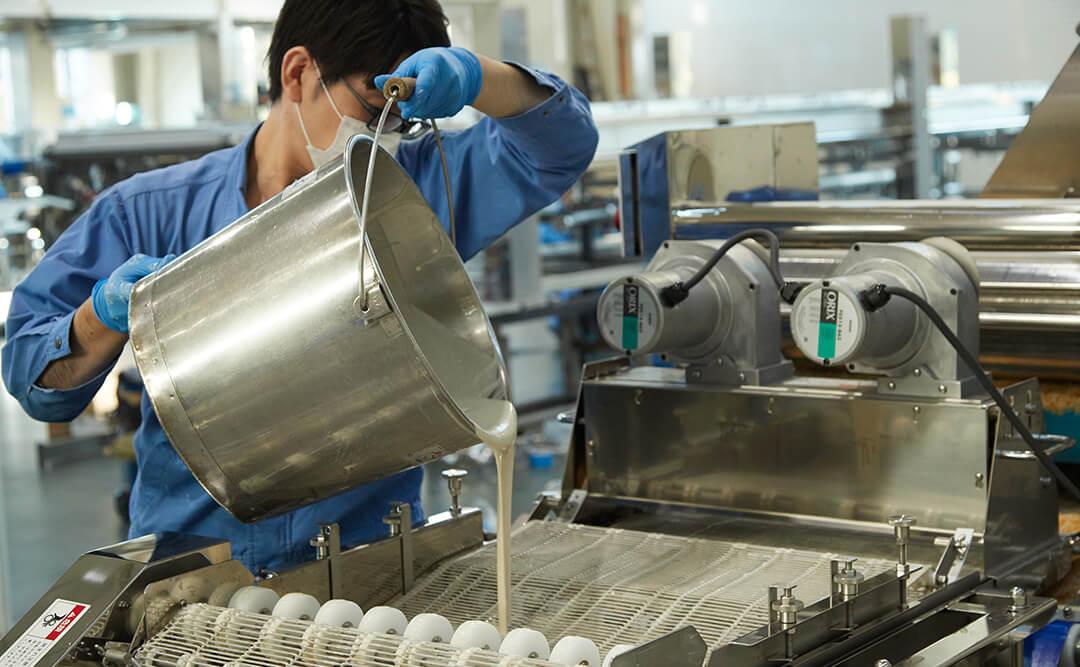 食品加工機械を安心してご導入いただくために3
