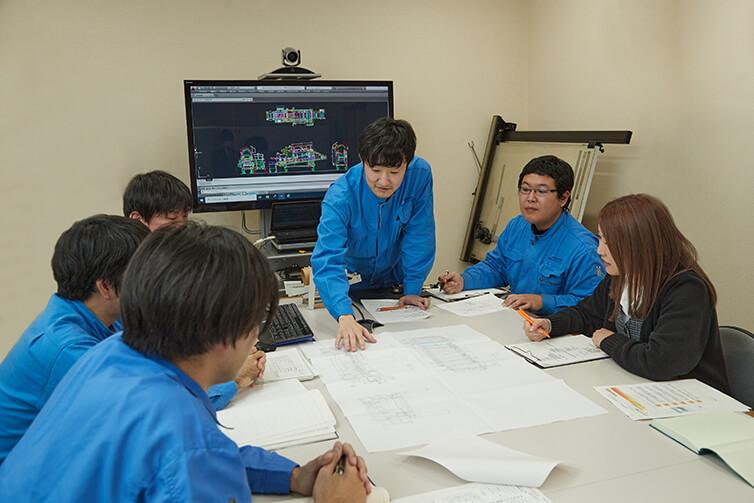 設計開発チームの技術への挑戦